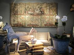 STYLEBEAT: DECORATING WITH ANTIQUES IN THE MODERN WORLD AT THE AVENUE ARMORY SHOW