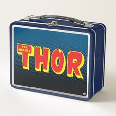 #The Mighty Thor Logo Metal Lunch Box - #marvel #comics & #movies #gifts