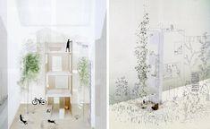"junya ishigami ""row"" house project, 2005"