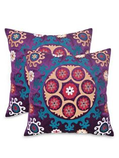 Vanessa Pillow (Set of 2) by Safavieh Pillows at Gilt