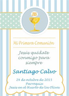 Ideas Para Fiestas, First Communion, Silhouette Projects, Religion, Abs, Baby Shower, The Originals, Party, First Holy Communion