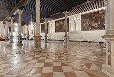 Tintoretto. Scuola grande di San Rocco. Sala terrena.