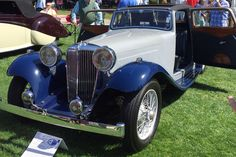 2017 Amelia Island Concours dElegance 1935 SS 1 Coupe