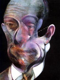 Francis Bacon - Portrait of Michel Leiris