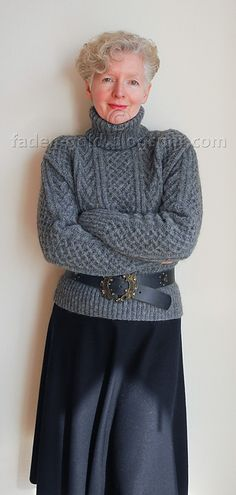 Ravelry: Cable Sweater pattern by Debbie Bliss