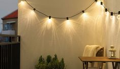 Tuinverlichting l Sfeervolle tuinlampen l IKEA.nl Ikea, Led Lamp, Wall Lights, Curtains, Cool Stuff, Lighting, Garden, Outdoor, Google