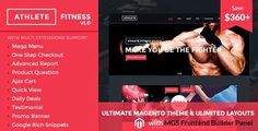 Best eCommerce Theme for Gym Fitness and Sports Store