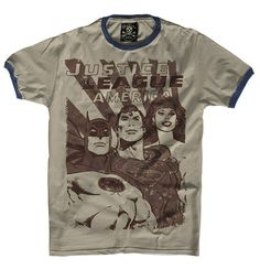 """Playera Justice League America ""  Vatos  disponible en www.kingmonster.com.mx"