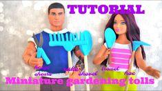 Tutoriel : outils de jardinage miniatures pour nos dolls 👩🌾🌱👨🌾 Doll Tutorial, Creations, Barbie, Miniatures, Dolls, Disney Princess, Youtube, Baby Dolls, Puppet