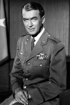 Actor & Brigadier General James (Jimmy) Stewart.