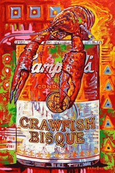 Cajun Pop Art Crawfish Bisque - Don's Specialty Meats