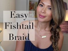 Fishtail braids aren't as complicated as they look. This braid can be easily recreated, just watch the tutorial! Marianna Hewitt will show you how.