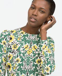 Image 2 of GATHERED SEAM DRESS from Zara