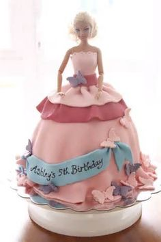 Image detail for -Promises and Secrets: How To Make A Barbie Cake