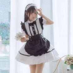 Kawaii Cosplay, Cute Cosplay, Kawaii Fashion, Lolita Fashion, Maid Cosplay, Maid Uniform, Maid Dress, Kawaii Clothes, Girl Costumes