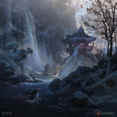 "ArtStation - Environments / ""Legendary: Game of Heroes"", Nuare Studio"