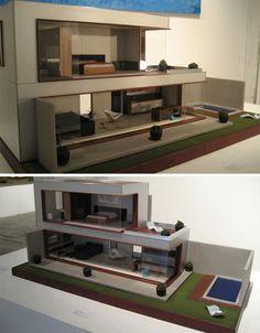casas miniatura modernas - Buscar con Google