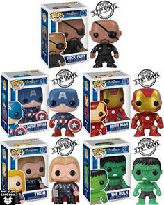 I want all of these!! And a Loki!