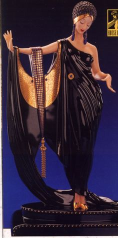 Glamour by House of Erté (porcelain figurine)