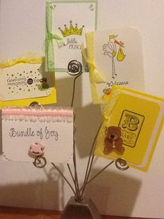 Mini cards (Great idea to go with a baby gift.)