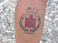 Jason's Triathlon Page: Triathlon Tattoos
