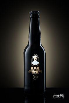 Productfotografie met een bierfles - Moor Fotografie