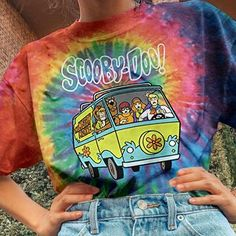 Kid Styles, Printed Tees, Shirts For Girls, Art For Kids, Colorful Backgrounds, Tie Dye, Artsy, Diy, Pattern