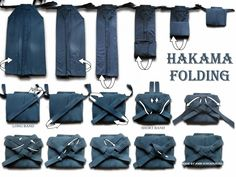 Folding Hakama