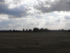 Cielo infernale sopra i campi - Stagno Lombardo - Provincia di Cremona - Maggio 2013