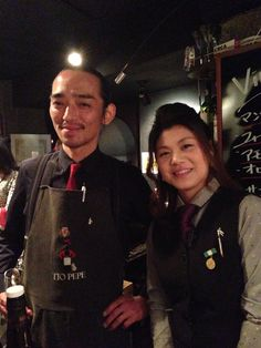 Sherry Club Ginza, General Manager Mr. Sugama, Venenciadora Ms. Kishimoto.