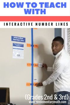 Are your 2nd and 3rd grade students struggling with number sense? Watch how to use interactive number lines with your students. Learn hands-on math games and activities that will keep your students engaged in learning.