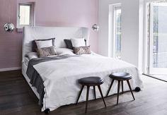 Fint og feminint soveværelse