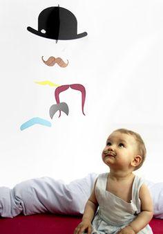 Mr. Moustache mobile