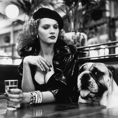 vintage black and white photos | Helmut Newton: vintage inspired pin-up photography