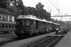Europas Bahnen: MThB - Mittelthurgaubahn / Schweiz Bahn, Trains, Europe, Locomotive, Swiss Guard, Nostalgia, Train