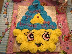 Cupcake queen pull apart cake shopkins