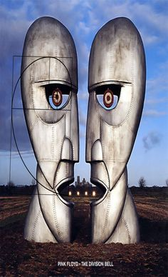 """A great Pink Floyd poster! The Storm Thorgerson (Hipgnosis) album cover art from the Division Bell LP! Take some """"Time"""" to check out the rest of our amazing selection of Pink Floyd posters! Need Poster Mounts. Album Pink Floyd, Art Pink Floyd, Pink Floyd Album Covers, Storm Thorgerson, Greatest Album Covers, Iconic Album Covers, Music Album Covers, Music Albums, David Gilmour"""