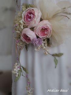 染め花コサージュ続々 の画像|アトリエdeco日記