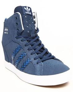 966487ce74692b Sporty Outfits – Buy Basket Profi Up Wedge Sneakers Women s Footwear from  Adidas. Find Adidas fashions   more at DrJays.com – Looks Magazine