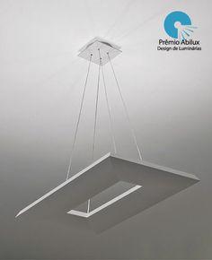 Pendente QUADRUS RETANGULAR #iluminacao #lightingdesign #LightDesignExporlux #luminarias #pendentes