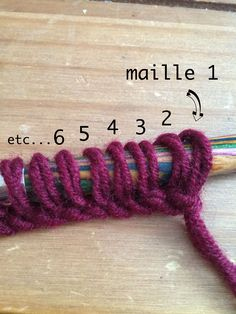 DIY Knitting tutorial of quotdouble turnquot snood in moss stitch beginners special Tricot Maille Double, Knitting Stitches, Knitting Patterns, Knitting Ideas, Newborn Crochet Patterns, Crochet Sandals, Unicorn Pattern, Moss Stitch, Le Point