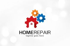 Home Repair Logo Template Templates This logo is great for service, construction, consult or any other business---Logo Features:- Ful by gunaonedesign Badge Template, Logo Templates, Business Brochure, Business Card Logo, Handyman Logo, Music Festival Logos, Logo Real, Construction Logo, Branding