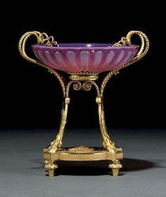 Opaline, Louis Xvi, Twins, Auction, It Cast, Crystals, Antiques, Tableware, Glass