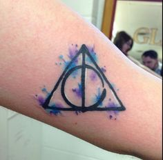 Harry Potter tattoo by Nate Teasdale