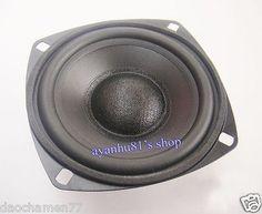 """3"""" inch 8Ohm Speaker 8Ω 8W 78mm Full Range Neodymium Magnet Loudspeaker Horn"""