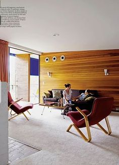An Australian family Mid-century house designed by Harry Seidler Click on the image to see more of it!