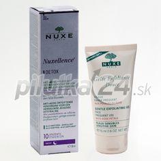 NUXE Nuxellence Detox + Nuxe peelingový gél ako darček