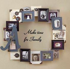 Unique Family Photo Frame Ideas Unique Ideas Family Photo Frame ideas for decorating picture frames & 40 Creative Frame Decoration Ideas For Your House | Pinterest ...
