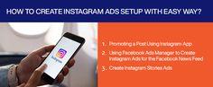 How to Create Instagram Ads Setup with Easy Way? #instagram #instagramads #adssetup #instagramadssetup Facebook Ads Manager, Facebook News, Instagram Advertising, Advertising Campaign, Design Development, Instagram Story, Web Design, Website, Create