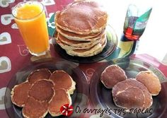 Pancakes Sweets Recipes, Cooking Recipes, Desserts, Breakfast Pancakes, Cupcake Cakes, Cupcakes, Good Food, Fun Food, Sweet Tooth